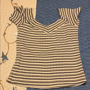 Charlotte Russe Striped Shirt